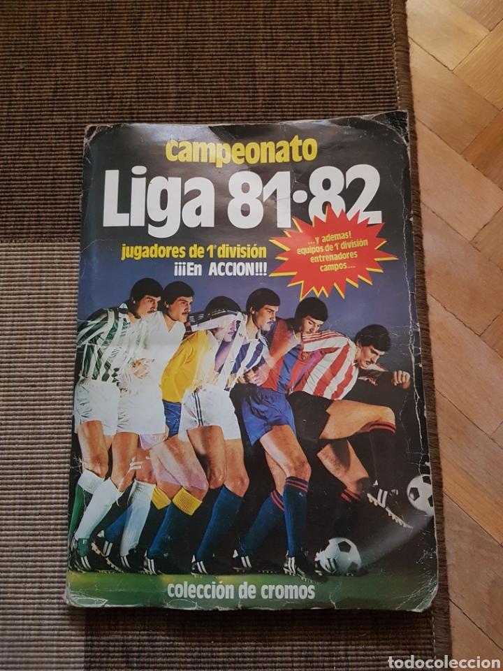 ALBUM COMPLETO LIGA ESTE 81 82 1981 1982 CON CROMOS DIFICILES (Coleccionismo Deportivo - Álbumes y Cromos de Deportes - Álbumes de Fútbol Completos)