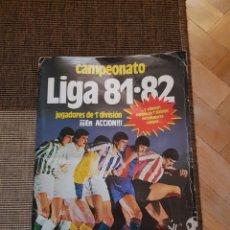 Álbum de fútbol completo: ALBUM COMPLETO LIGA ESTE 81 82 1981 1982 CON CROMOS DIFICILES. Lote 95347150