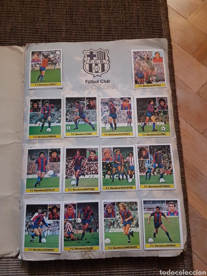 Álbum de fútbol completo: Album completo liga este 81 82 1981 1982 con cromos dificiles - Foto 2 - 95347150