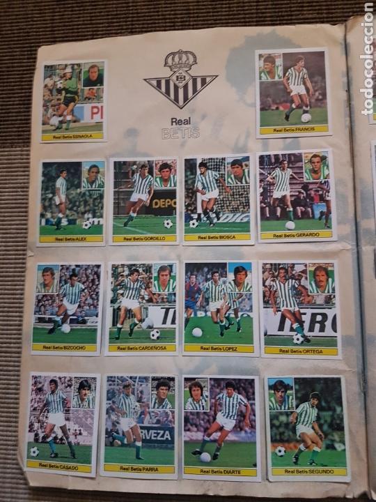 Álbum de fútbol completo: Album completo liga este 81 82 1981 1982 con cromos dificiles - Foto 3 - 95347150