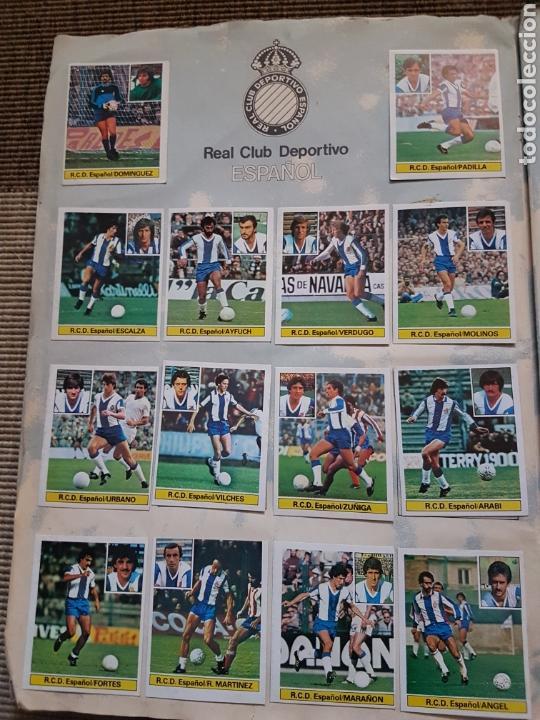 Álbum de fútbol completo: Album completo liga este 81 82 1981 1982 con cromos dificiles - Foto 8 - 95347150