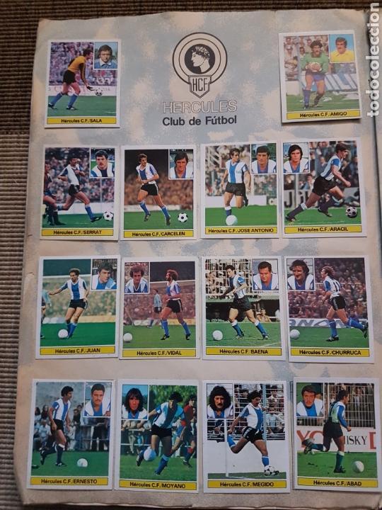 Álbum de fútbol completo: Album completo liga este 81 82 1981 1982 con cromos dificiles - Foto 10 - 95347150