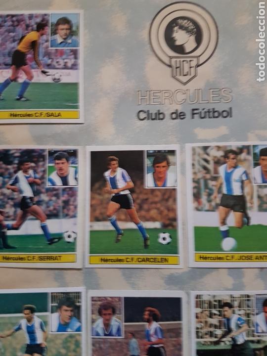 Álbum de fútbol completo: Album completo liga este 81 82 1981 1982 con cromos dificiles - Foto 11 - 95347150