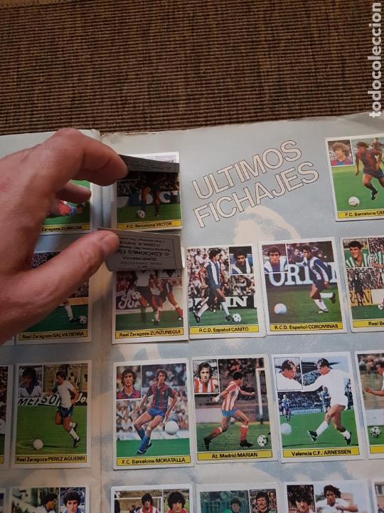 Álbum de fútbol completo: Album completo liga este 81 82 1981 1982 con cromos dificiles - Foto 26 - 95347150