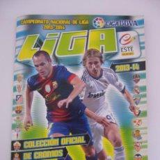 Álbum de fútbol completo: ALBUM FUTBOL LIGA 2013-2014 ESTE COMPLETO 571 CROMOS.LEER DESCRIPCION.. Lote 95470015