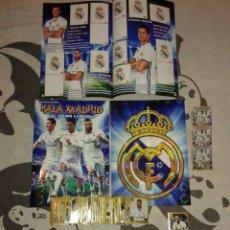 Álbum de fútbol completo: HALA MADRID - COLECCION COMPLETA SIN PEGAR + ALBUM PLANCHA ( EDITADO EN COLOMBIA ). Lote 95515099
