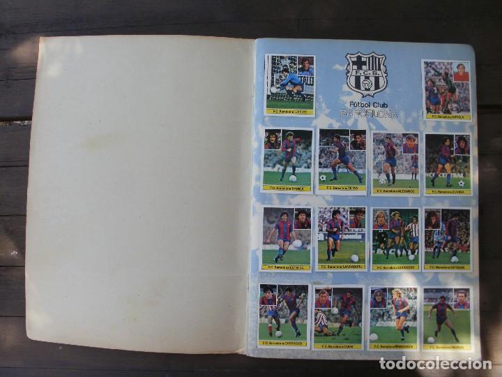 Álbum de fútbol completo: ALBUM LIGA ESTE 81-82 COMPLETO CON CROMOS DIFICILES - Foto 2 - 95605603