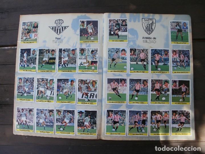 Álbum de fútbol completo: ALBUM LIGA ESTE 81-82 COMPLETO CON CROMOS DIFICILES - Foto 3 - 95605603