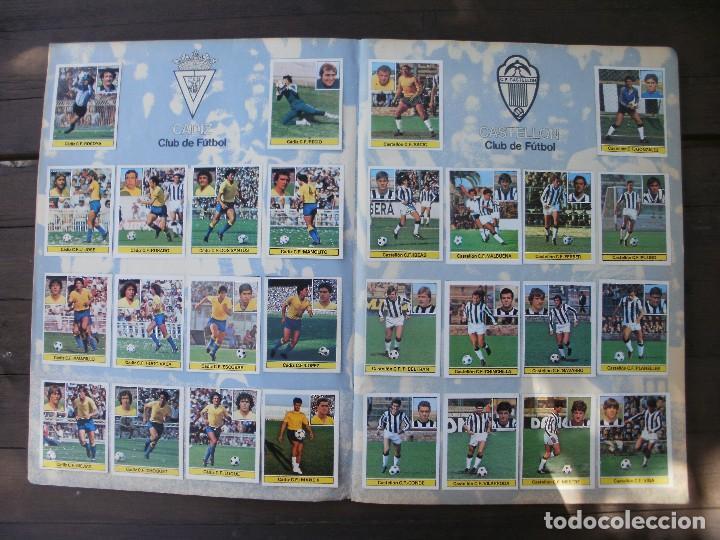 Álbum de fútbol completo: ALBUM LIGA ESTE 81-82 COMPLETO CON CROMOS DIFICILES - Foto 4 - 95605603