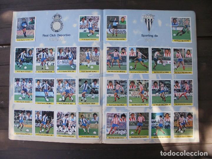Álbum de fútbol completo: ALBUM LIGA ESTE 81-82 COMPLETO CON CROMOS DIFICILES - Foto 5 - 95605603