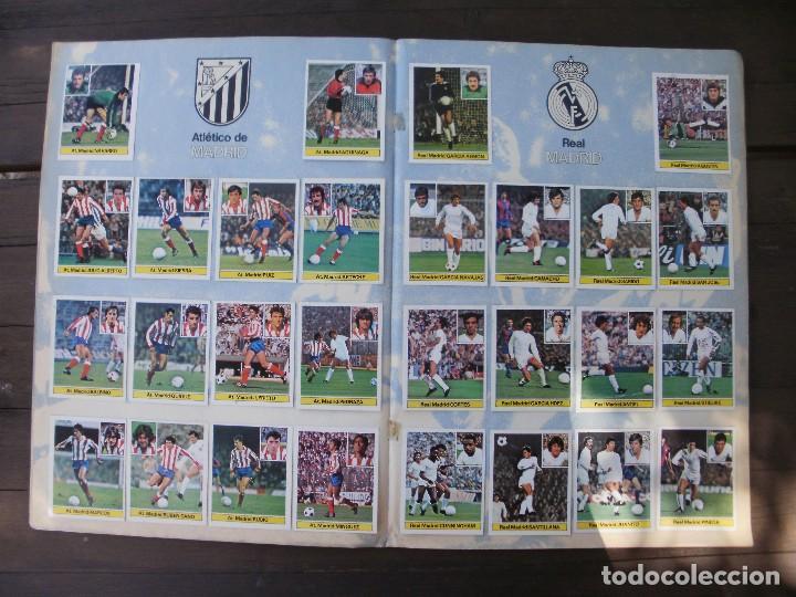Álbum de fútbol completo: ALBUM LIGA ESTE 81-82 COMPLETO CON CROMOS DIFICILES - Foto 7 - 95605603