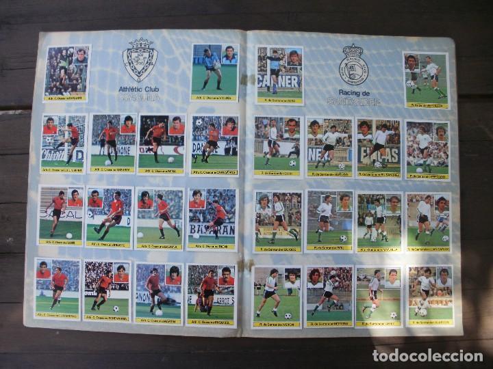 Álbum de fútbol completo: ALBUM LIGA ESTE 81-82 COMPLETO CON CROMOS DIFICILES - Foto 8 - 95605603