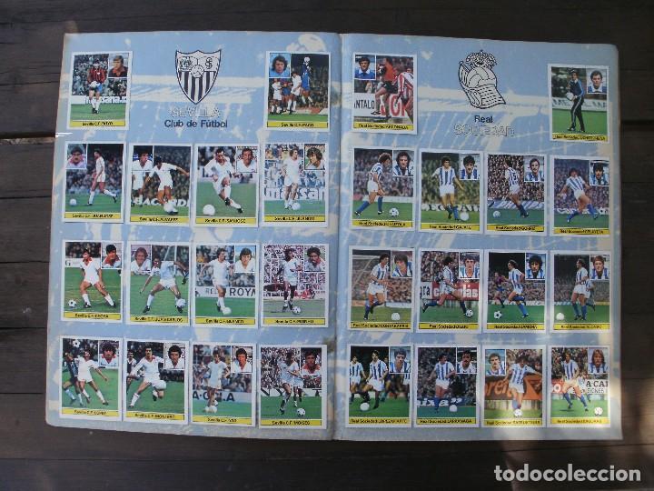 Álbum de fútbol completo: ALBUM LIGA ESTE 81-82 COMPLETO CON CROMOS DIFICILES - Foto 9 - 95605603