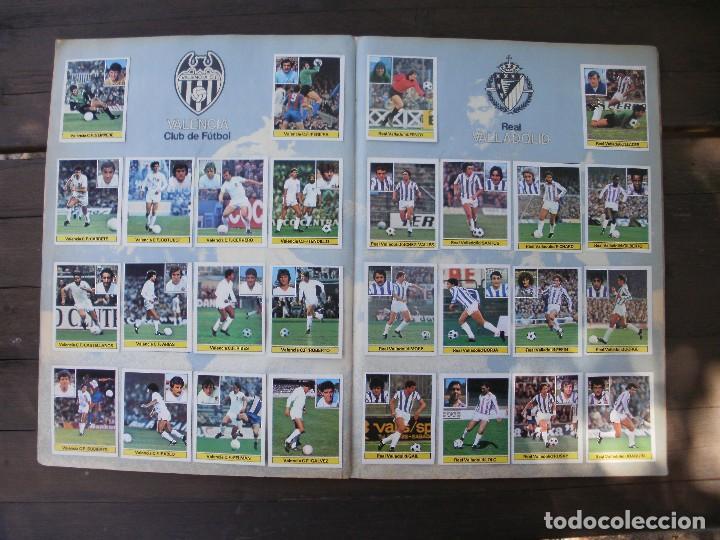 Álbum de fútbol completo: ALBUM LIGA ESTE 81-82 COMPLETO CON CROMOS DIFICILES - Foto 10 - 95605603