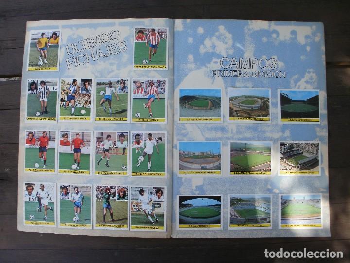 Álbum de fútbol completo: ALBUM LIGA ESTE 81-82 COMPLETO CON CROMOS DIFICILES - Foto 12 - 95605603