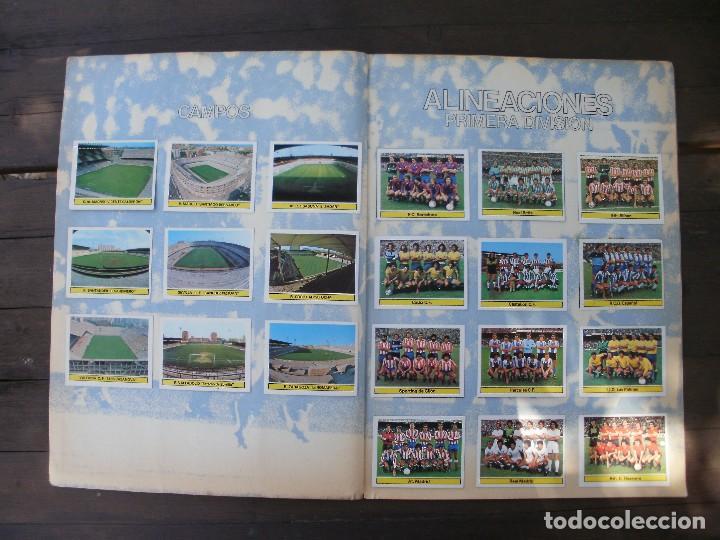 Álbum de fútbol completo: ALBUM LIGA ESTE 81-82 COMPLETO CON CROMOS DIFICILES - Foto 13 - 95605603