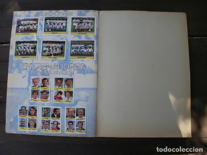 Álbum de fútbol completo: ALBUM LIGA ESTE 81-82 COMPLETO CON CROMOS DIFICILES - Foto 14 - 95605603