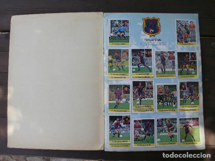 Álbum de fútbol completo: ALBUM LIGA ESTE 81-82 COMPLETO CON CROMOS DIFICILES - Foto 2 - 95606455