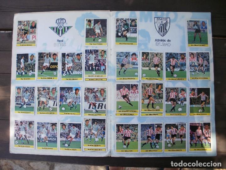 Álbum de fútbol completo: ALBUM LIGA ESTE 81-82 COMPLETO CON CROMOS DIFICILES - Foto 3 - 95606455