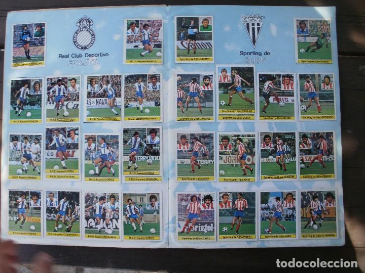 Álbum de fútbol completo: ALBUM LIGA ESTE 81-82 COMPLETO CON CROMOS DIFICILES - Foto 4 - 95606455