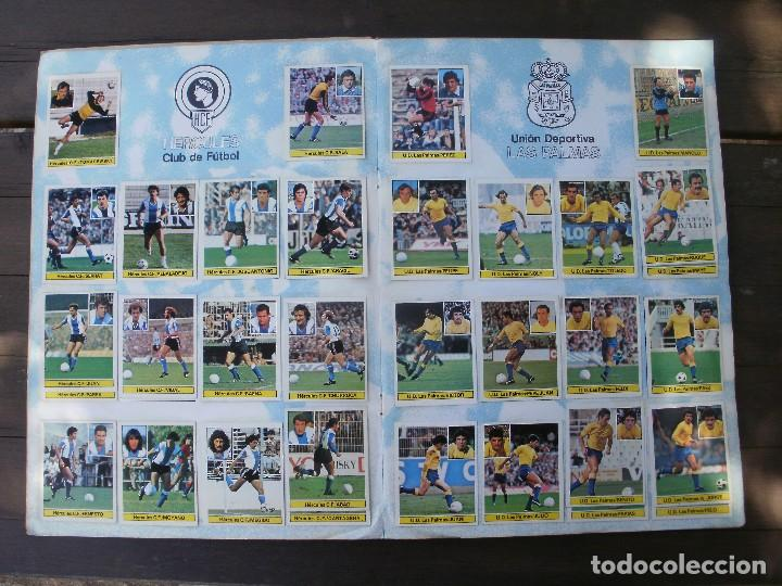 Álbum de fútbol completo: ALBUM LIGA ESTE 81-82 COMPLETO CON CROMOS DIFICILES - Foto 6 - 95606455
