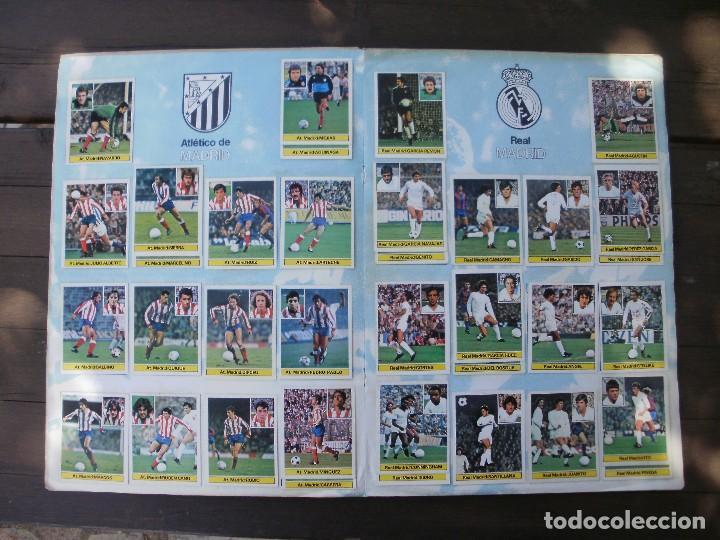 Álbum de fútbol completo: ALBUM LIGA ESTE 81-82 COMPLETO CON CROMOS DIFICILES - Foto 7 - 95606455