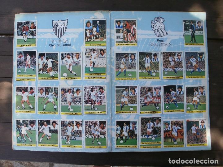 Álbum de fútbol completo: ALBUM LIGA ESTE 81-82 COMPLETO CON CROMOS DIFICILES - Foto 9 - 95606455