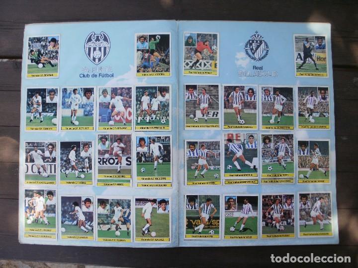 Álbum de fútbol completo: ALBUM LIGA ESTE 81-82 COMPLETO CON CROMOS DIFICILES - Foto 10 - 95606455