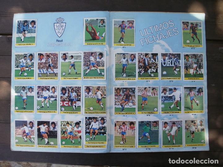 Álbum de fútbol completo: ALBUM LIGA ESTE 81-82 COMPLETO CON CROMOS DIFICILES - Foto 11 - 95606455