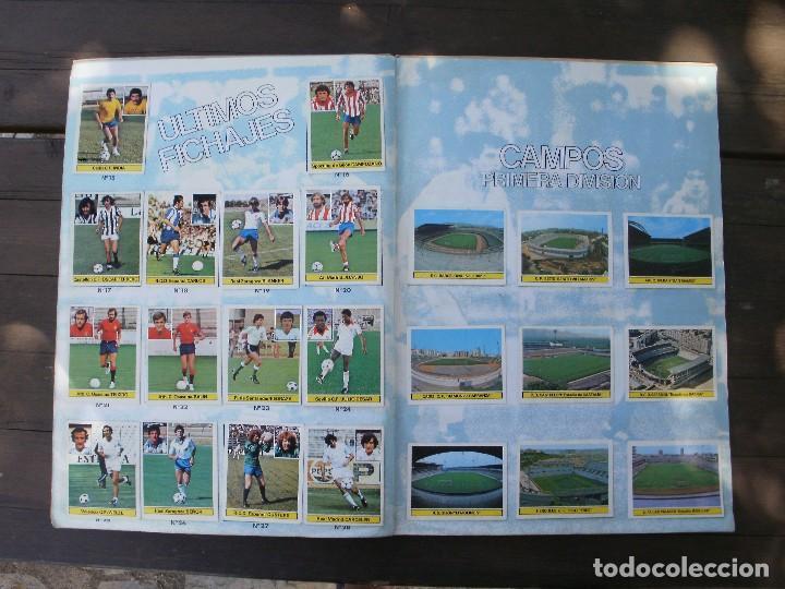 Álbum de fútbol completo: ALBUM LIGA ESTE 81-82 COMPLETO CON CROMOS DIFICILES - Foto 12 - 95606455