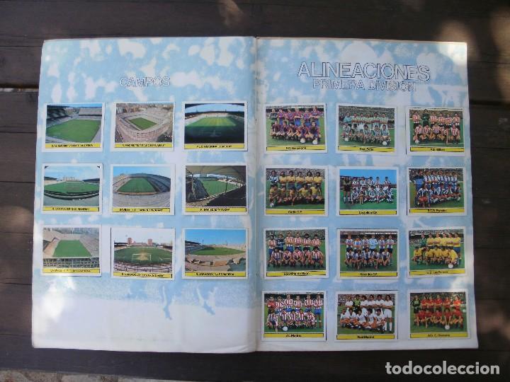 Álbum de fútbol completo: ALBUM LIGA ESTE 81-82 COMPLETO CON CROMOS DIFICILES - Foto 13 - 95606455