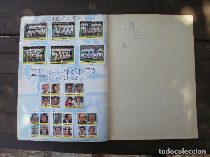 Álbum de fútbol completo: ALBUM LIGA ESTE 81-82 COMPLETO CON CROMOS DIFICILES - Foto 14 - 95606455