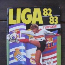 Álbum de fútbol completo: ALBUM LIGA ESTE 82-83 COMPLETO CON CROMOS DIFICILES. Lote 95607139