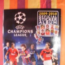 Álbum de fútbol completo: COLECCION COMPLETA ALBUM PLANCHA + TODO LO EDITADO SIN PEGAR UEFA CHAMPIONS 09-10 COMPLETA. Lote 95621927