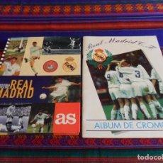Álbum de fútbol completo: HISTORIA GRÁFICA DEL REAL MADRID DIARIO AS COMPLETO. REAL MADRID 94 95 MAGIC BOX INTERNATIONAL VACÍO. Lote 95661923