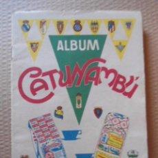 Álbum de fútbol completo: CATUNAMBU ALBUM COMPLETO FUTBOL LIGA 1960/61 MUY BIEN CONSERVADO. Lote 95752067
