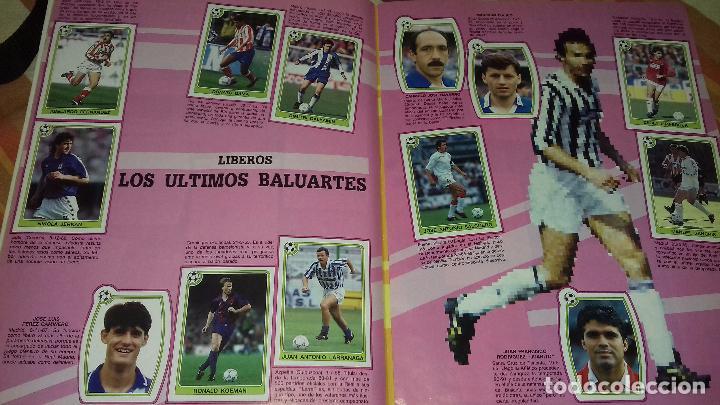 Álbum de fútbol completo: FUTBOL 92-93 - ESTRELLAS DE LA LIGA - PANINI - COMPLETO - Foto 3 - 82206596
