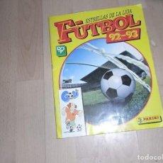 Álbum de fútbol completo: ESTRELLAS DE LA LIGA DE FUTBOL 92-93. PANINI, FALTAN 31 CROMOS. Lote 96091915