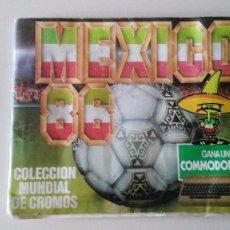 Álbum de fútbol completo: ALBUM COMPLETO DE CROMOS DE FUTBOL - MEXICO 86 - DE CROMOS BARNA - COMPLETO. Lote 96437087