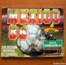 Álbum de fútbol completo: ÁLBUM MUNDIAL MÉXICO 86, MÉJICO 1986 - CROMOS BARNA - COMPLETO. Lote 96649251