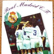 Álbum de fútbol completo: ALBUM 1994 REAL MADRID FUTBOL Y BALONCESTO. HIMNO HISTORIA JUGADORES. EXCELENTE ESTADO. Lote 70029161