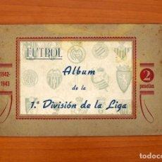 Álbum de fútbol completo: ÁLBUM DE FÚTBOL 1ª DIVISIÓN - TEMPORADA 1942-1943, 42-43 - VER FOTOS Y EXPLICACIONES INTERIORES. Lote 96764191