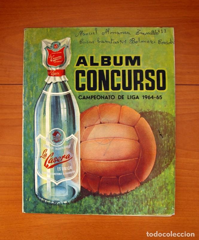 ÁLBUM CONCURSO LA CASERA - LIGA 1964-1965, 64-65 - CO (CÓRDOBA) - COMPLETO (Coleccionismo Deportivo - Álbumes y Cromos de Deportes - Álbumes de Fútbol Completos)