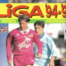 Álbum de fútbol completo: ALBUM DE LA LIGA 94/95 COMPLETO EN BUEN ESTADO. Lote 96822799