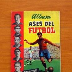 Álbum de fútbol completo: ASES DEL FÚTBOL 1951-1952, 51-52 - EDITORIAL BRUGUERA - COMPLETO - VER FOTOS INTERIORES. Lote 96831775