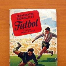 Álbum de fútbol completo: CAMPEONATOS NACIONALES DE FÚTBOL 1953-1954, 53-54 - EDITORIAL RUIZ ROMERO - VER INFORMACIÓN INTERIOR. Lote 96832051