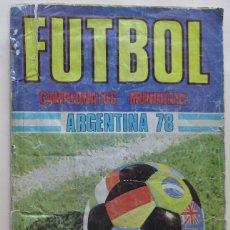 Álbum de fútbol completo: ALBUM MUNDIAL ARGENTINA 1978. Lote 96855975
