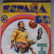 Álbum de fútbol completo: ALBUM CROMOS COMPLETO FUTBOL MUNDIAL ESPAÑA 82. FHER. Lote 96918183