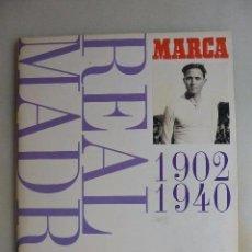 Álbum de fútbol completo: ALBUM CROMOS COMPLETO REAL MADRID. MUSEO BLANCO. 1902-1940. Lote 97006759