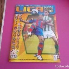 Álbum de fútbol completo: ALBUM COMPLETO CON MUCHOS DOBLES BUENO ESTE / 2005/2006. Lote 97072687